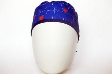 gorro de quirófano de electros pelo corto frontal